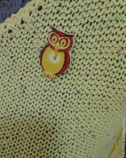 """Кофты и свитера ручной работы. Ярмарка Мастеров - ручная работа. Купить Туника """"Совушка"""". Handmade. Комбинированный, мастер анна горбунова"""