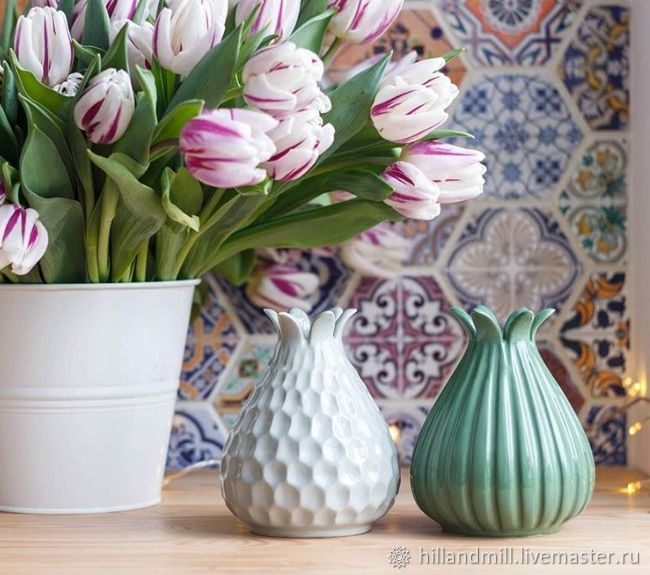 Vase 'Salamander' M, Vases, Vyazniki,  Фото №1