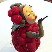 Куклы и игрушки ручной работы. Ярмарка Мастеров - ручная работа ,, Малиновый поцелуй ,,. Handmade.