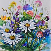 Картины и панно handmade. Livemaster - original item Wildflowers. Handmade.