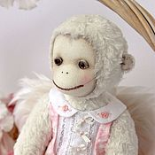 Stuffed Toys handmade. Livemaster - original item Friends Teddy. The author`s work.Monkey Laura.