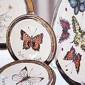 Посуда handmade. Livemaster - original item Botanical set. ceramic handmade. Handmade.