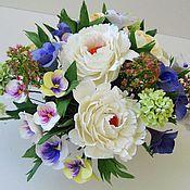 Цветы и флористика ручной работы. Ярмарка Мастеров - ручная работа Реверанс - цветочная композиция. Handmade.