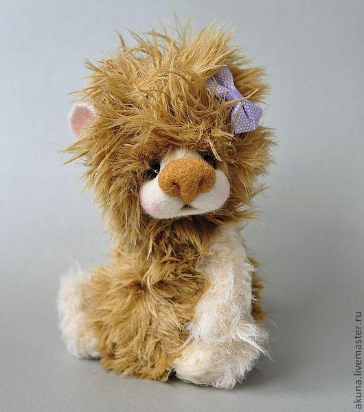 Мишки Тедди ручной работы. Ярмарка Мастеров - ручная работа. Купить Мия. Handmade. Бежевый, медвежонок, глазки плстик