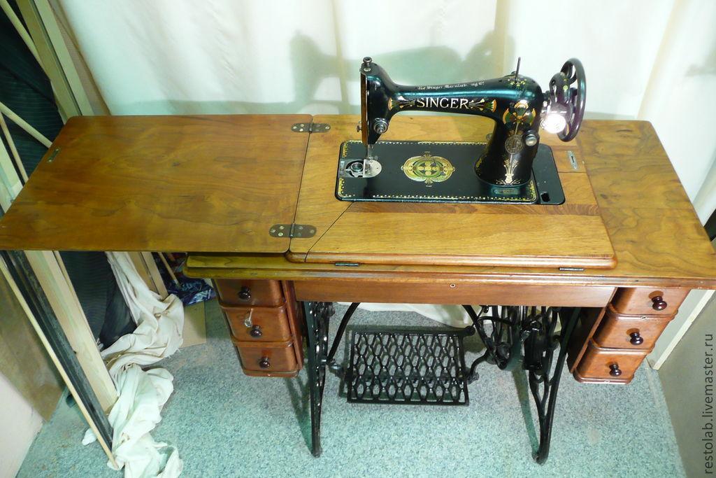 Реставрация швейной машинки зингер своими руками 139