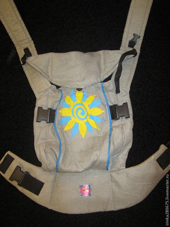 Эргономичный рюкзак с ручной росписью, Слинги, Кострома, Фото №1