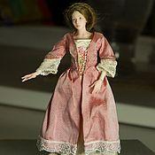 Шарнирная кукла ручной работы. Ярмарка Мастеров - ручная работа Агния  шарнирная кукла масштаб 1/12. Handmade.