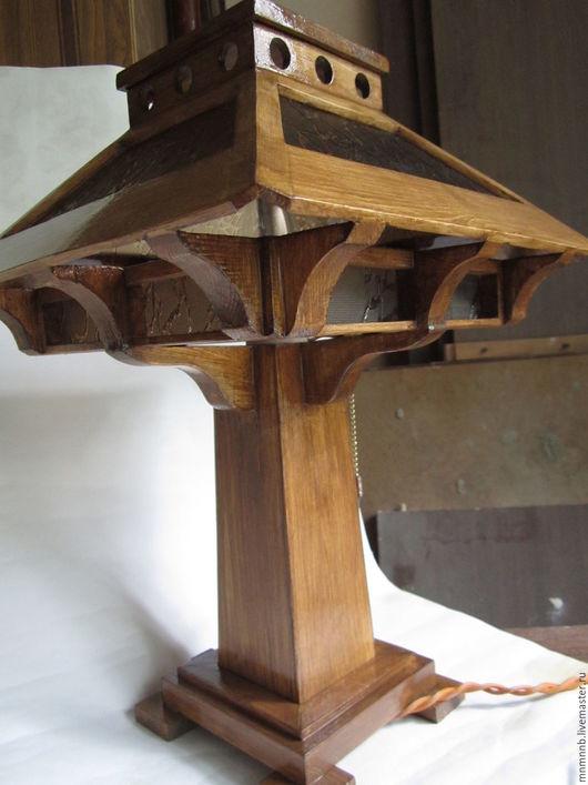 Освещение ручной работы. Ярмарка Мастеров - ручная работа. Купить Настольная лампа Оки-Торо. Handmade. Лампа, японская лампа