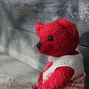 Куклы и игрушки ручной работы. Ярмарка Мастеров - ручная работа Авторский мишка Марк. Handmade.
