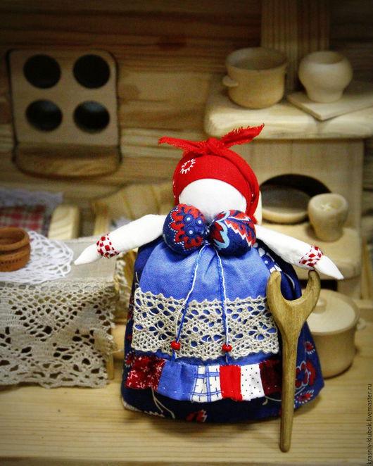 Народные куклы ручной работы. Ярмарка Мастеров - ручная работа. Купить Благополучие. Handmade. Ярко-красный, благополучие, солоха