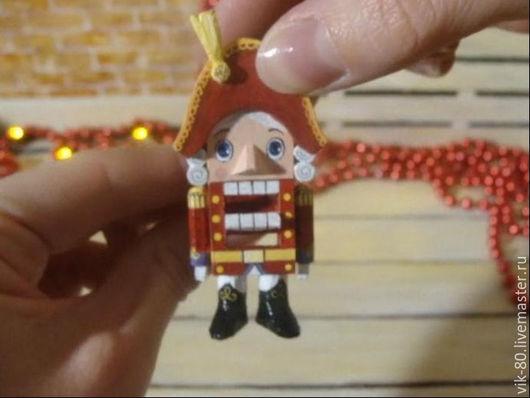 Коллекционные куклы ручной работы. Ярмарка Мастеров - ручная работа. Купить Коллекционная кукла щелкунчик. Handmade. Щелкунчик, новый год 2016