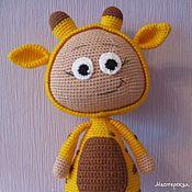 Куклы и игрушки ручной работы. Ярмарка Мастеров - ручная работа Бонни в костюме жирафика. Handmade.