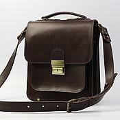 Сумки и аксессуары handmade. Livemaster - original item Men`s bag: M-017-SH-003-2. Handmade.