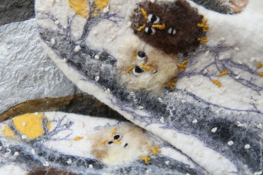 Mittens & Gloves handmade. Livemaster - handmade. Buy Felted mittens 'Wool tale'.Handmade, original gift, women's mittens