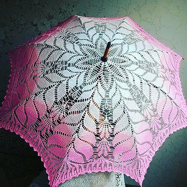 Аксессуары ручной работы. Ярмарка Мастеров - ручная работа Зонты: Ажурный зонт. Handmade.