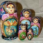Русский стиль ручной работы. Ярмарка Мастеров - ручная работа Матрешка 5 мест. Handmade.