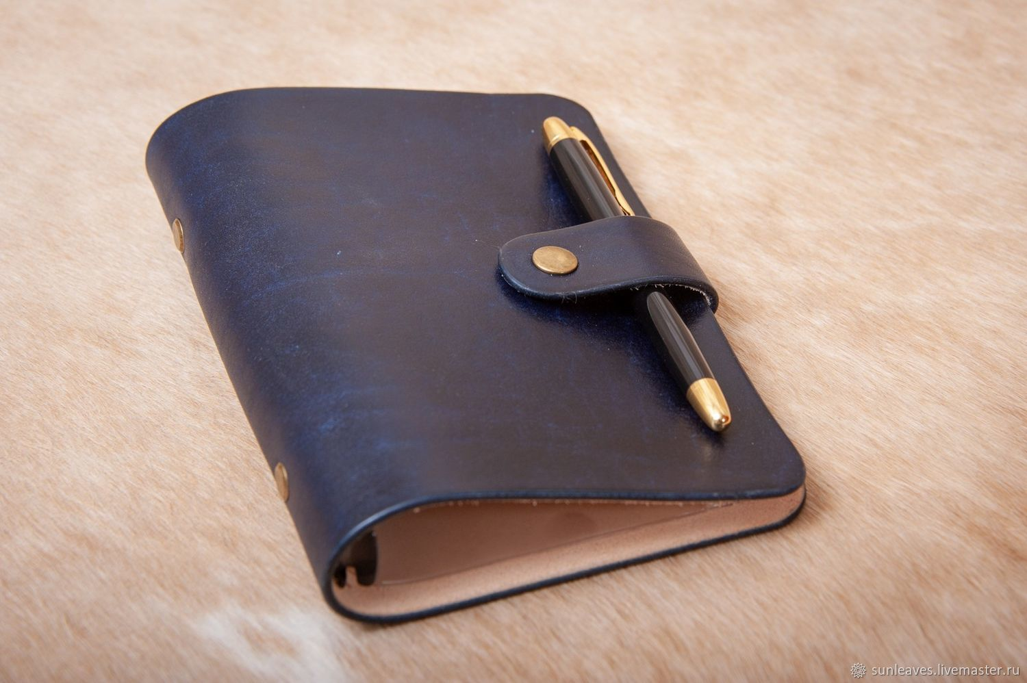 Notebook on the rings 'Business notebook' the size of the Staff, Notebook, St. Petersburg,  Фото №1