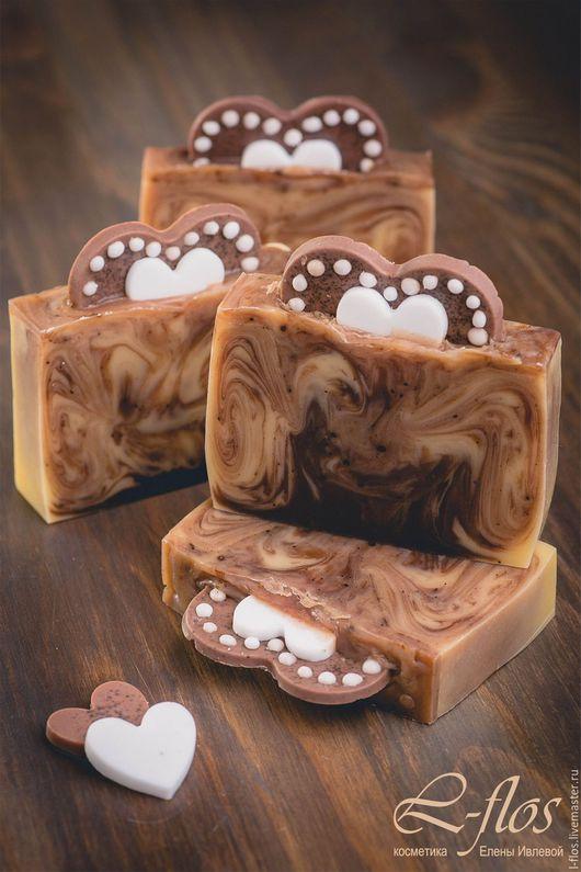 Мыло ручной работы `Имбирное печенье` - 300 руб !!!Не содержит лаурилсульфат натрия (SLS)!!!