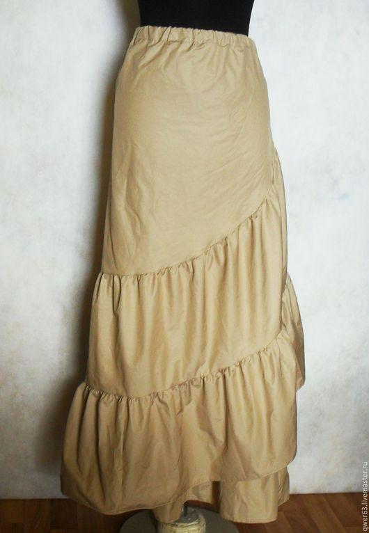 юбка-бохо, бохо-стиль, длинная юбка, юбка в пол, из хлопка, красивая юбка, модная юбка, для отдыха, летняя юбка, легкая юбочка, подарок, модная одежда