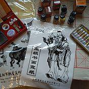 Материалы для творчества ручной работы. Ярмарка Мастеров - ручная работа китайская каллиграфия. Handmade.