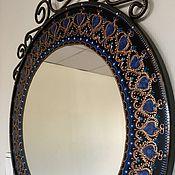Для дома и интерьера ручной работы. Ярмарка Мастеров - ручная работа Зеркало интерьерное круглое. Handmade.