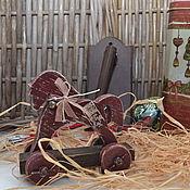 """Куклы и игрушки ручной работы. Ярмарка Мастеров - ручная работа Деревянная лошадка """"Из детства"""". Handmade."""