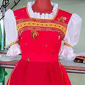 Одежда ручной работы. Ярмарка Мастеров - ручная работа Русский народный  костюм  Матрешка. Handmade.