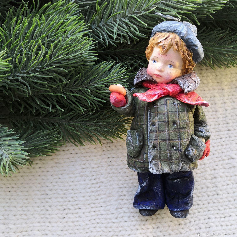 Малыш с ватрушкой, Елочные игрушки, Москва,  Фото №1