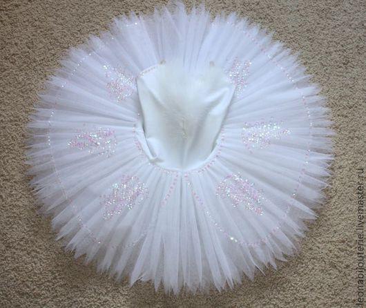 Танцевальные костюмы ручной работы. Ярмарка Мастеров - ручная работа. Купить Пачка белая подростковая (рост около 140 см). Handmade.