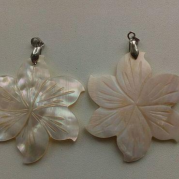 Materials for creativity handmade. Livemaster - original item Pendant-pearl pendant(2pcs). Handmade.