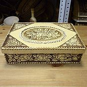Для дома и интерьера handmade. Livemaster - original item Box of birch bark for documents. Box A4. Handmade.