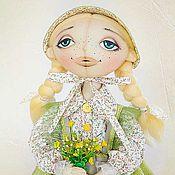 Куклы и игрушки ручной работы. Ярмарка Мастеров - ручная работа Текстильная кукла Мартина. Handmade.