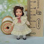 Куклы и игрушки ручной работы. Ярмарка Мастеров - ручная работа Кукла для куклы миниатюрная 5 см.. Handmade.