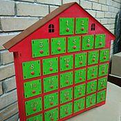 Подарки к праздникам handmade. Livemaster - original item The advent calendar Kinder big. Handmade.