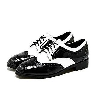 Обувь ручной работы. Ярмарка Мастеров - ручная работа Оксфорды женские. Handmade.