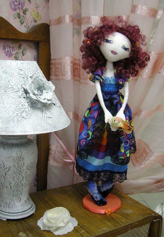 Коллекционные куклы ручной работы. Ярмарка Мастеров - ручная работа. Купить Интерьерная текстильная кукла. Коллекция«Пастораль». Handmade. Комбинированный
