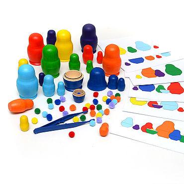 Куклы и игрушки ручной работы. Ярмарка Мастеров - ручная работа Матрешки в три сложения / ручная работа. Handmade.