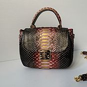 Сумки и аксессуары handmade. Livemaster - original item Bag leather Python. Handmade.