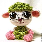 Куклы и игрушки ручной работы. Ярмарка Мастеров - ручная работа Питомец WINX (Винкс) -Винксовая  овечка -Бель. Handmade.