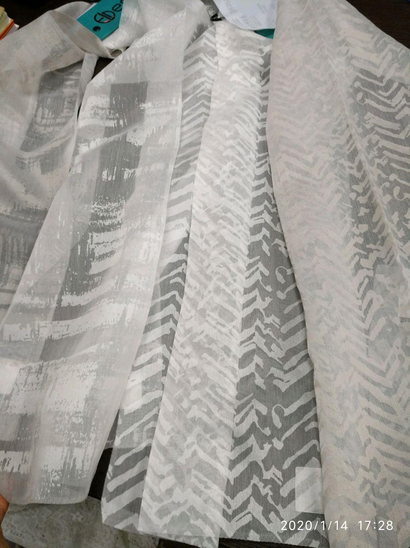 """Тюль натуральный тюль вискоза  печатью  """" Ванга"""", 310 см, Занавески, Можайск,  Фото №1"""