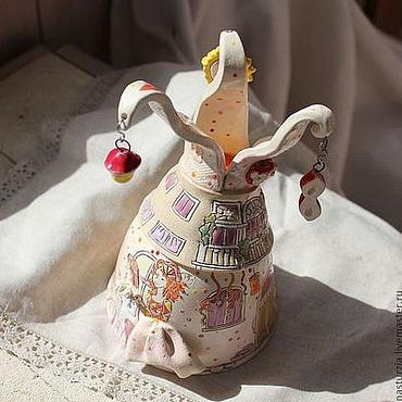 Сувениры и подарки ручной работы. Ярмарка Мастеров - ручная работа Колокольчик После карнавала. Handmade.