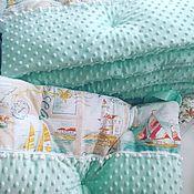Бортики + одеяло конверт с простыней !!! Новорожденные !