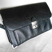 Сумки и аксессуары handmade. Livemaster - original item Handy men leather. Handmade.