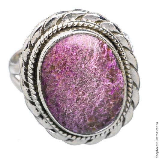 Кольца ручной работы. Ярмарка Мастеров - ручная работа. Купить Кольцо Пурпурит в серебре. Handmade. Серебряное кольцо, минерал