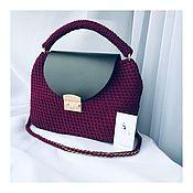 handmade. Livemaster - original item Bag leather. Handmade.