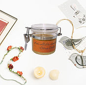 "Косметика ручной работы handmade. Livemaster - original item Aromatherapy organic anti-cellulite body scrub ""Citrus Sorbet"". Handmade."
