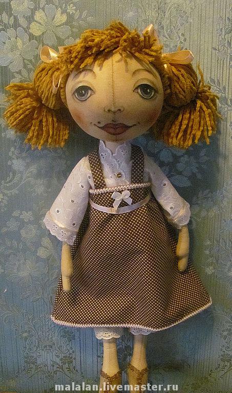 """Ароматизированные куклы ручной работы. Ярмарка Мастеров - ручная работа. Купить кукла """"Клара"""". Handmade. Текстильная кукла, куклы и игрушки"""