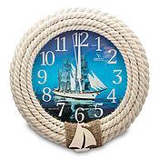 Для дома и интерьера handmade. Livemaster - original item Ship`s wall clock