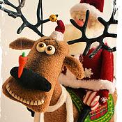 Куклы и игрушки ручной работы. Ярмарка Мастеров - ручная работа Вези меня олень в свою страну оленью!. Handmade.