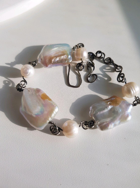 Bracelet with pearls, Bead bracelet, Voronezh,  Фото №1